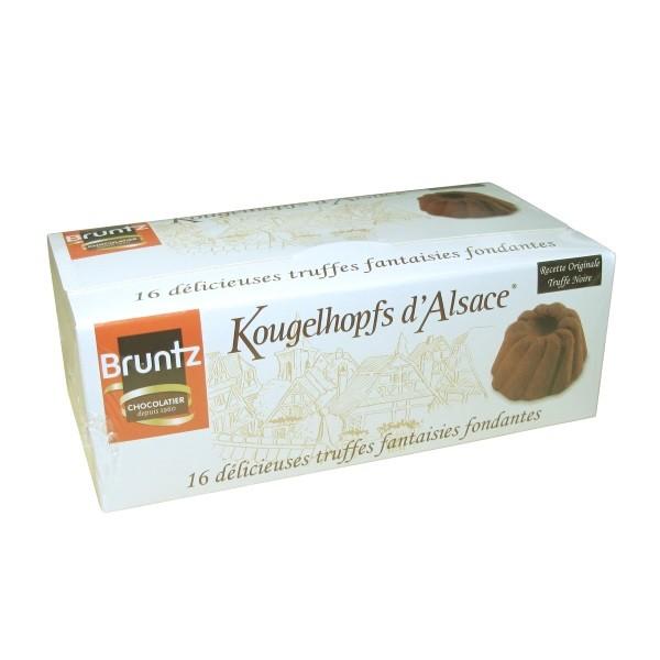 Bruntz - 16 Stk. Kougelhopfs d'Alsace (Kakaokonfekt)