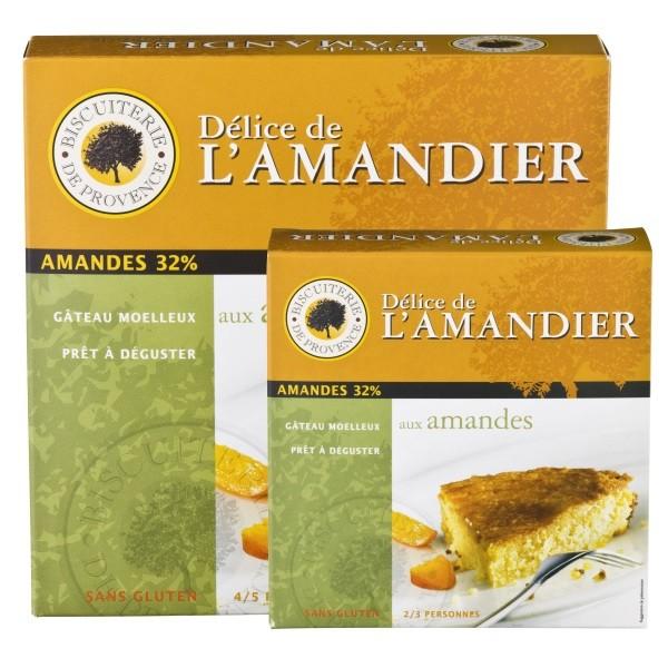 120 g oder 240 g - Délice de l'Amandier - Mandelkuchen