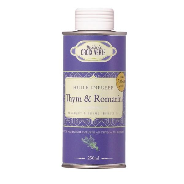 Croix Verte - Thymian- & Rosmarinöl / infundiertes Sonnenblumenöl 250 ml