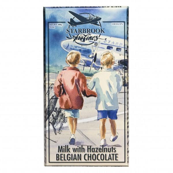 Maxi Tafel Milchschokolade mit Haselnüssen