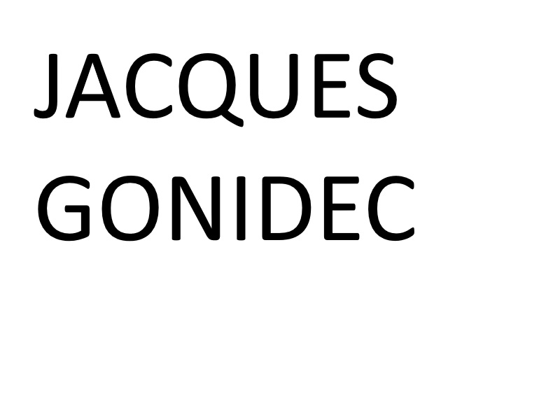 Gonidec, Conserverie