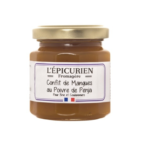 L'Èpicurien - Mangoconfit mit Penja-Pfeffer 125 g