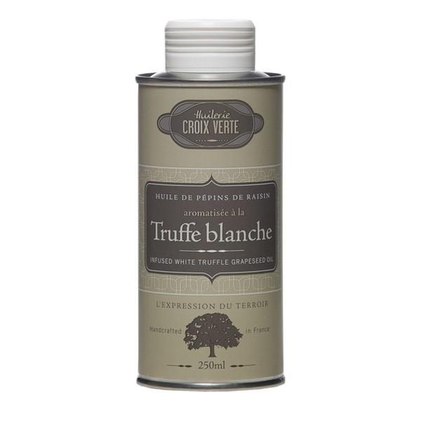 Croix Verte - Traubenkernöl mit weißen Trüffelaroma / Huile de Pepins de Raisin aromatisée à la Truffe Blanche 250 ml