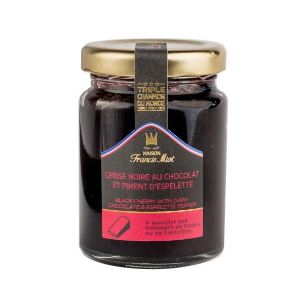 Francis Miot - Schwarzkirsche & Schokolade 110 g