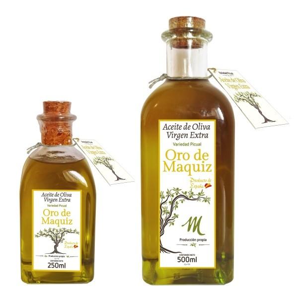 Natives Olivenöl Extra - Oro de Maquiz 250 ml & 500 ml