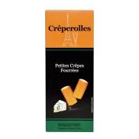 Millecrêpes - Crêperolles Mix - Roquefort, Cheddar, Compté, Bacon 4x100 g