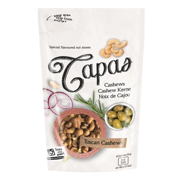 Tapas - Cashewkerne toskanischer Art 125 g