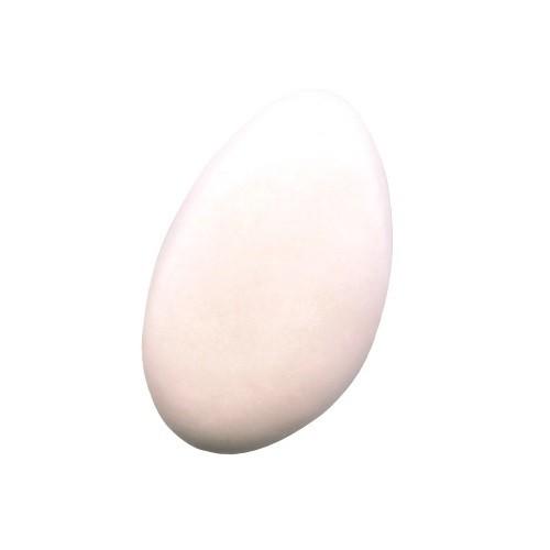 Schokoladendragées in Weiß seidenmatt glänzend