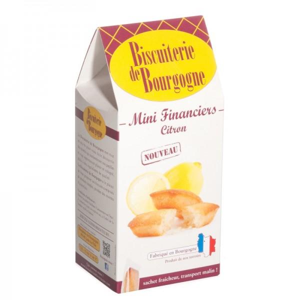 Bicuiterie de Bourgogne - Mini-Mandelkuchen mit kandierter Mini-Mandelkuchen mit kandierter Zitronenschale 150 g