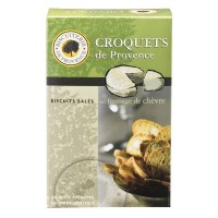 Biscuiterie de Provence - Salzgebäck mit Ziegenkäse 75 g