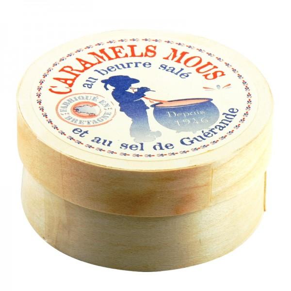 La Maison d'Armorine - Gesalzene Butterkaramellen in der runden Schachtel 50 g