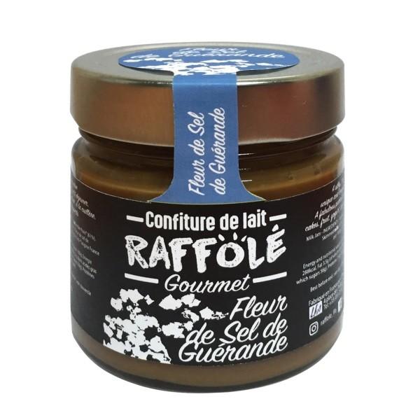 Raffolé - Milchaufstrich mit Fleur de Sel 250 g
