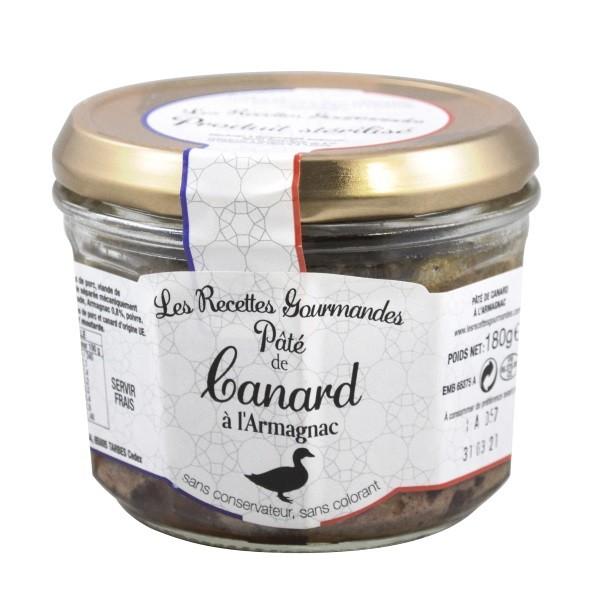 Jean Brunet - Entenpastete mit Armagnac 180 g