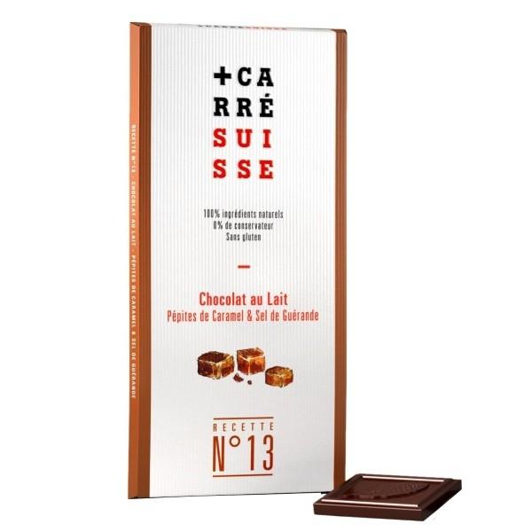 Milchschokolade mit Karamellsplitter