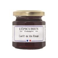 L'Épicurien - Rotweinconfit 125 g