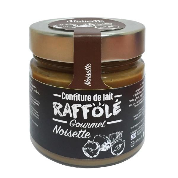 Raffolé - Milchaufstrich mit Haselnüssen 250 g