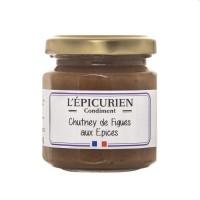 L'Èpicurien - Feigen-Chutney mit Gewürzen 115 g