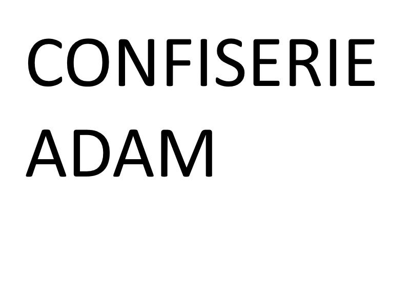 Adam, Confiserie