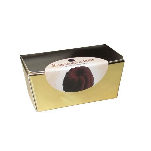 Mini-Kougelhopfs d'Alsace in klenem Goldballotin 30 g