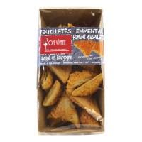 Bon Vivant - Feuilleté-Ecken mit Emmentaler & Espelette Pfeffer 60 g
