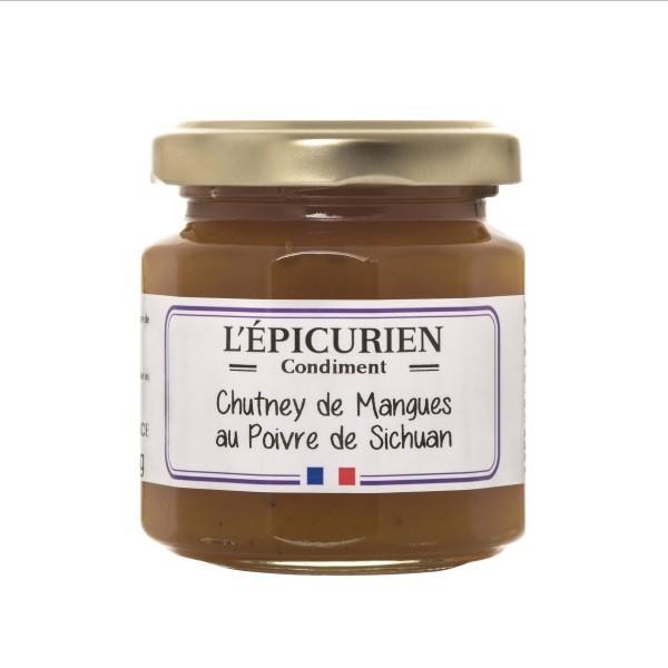 L'Èpicurien - L'Èpicurien - Mango-Chutney mit Szechuan Pfeffer 125 g