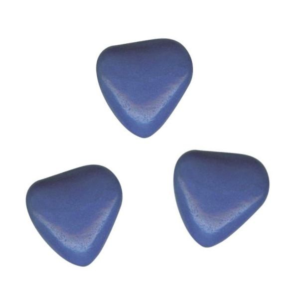 Herzchen Schokoladendragées Blau