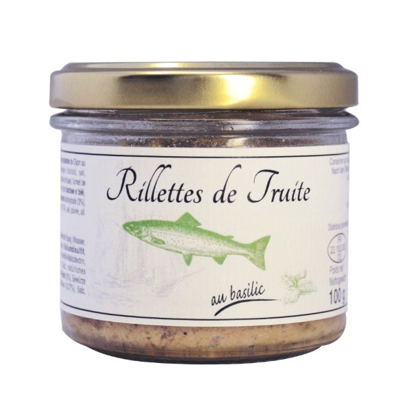Beauharnais - Forellenrillettes mit Basilikum 100 g
