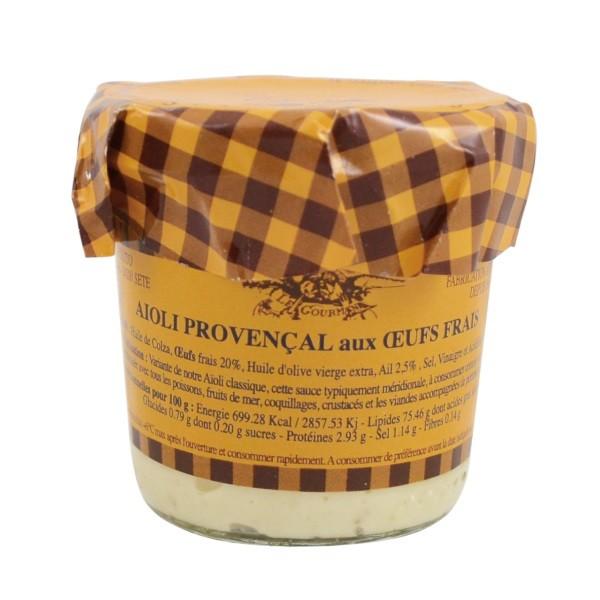 Azaïs-Polito - Knoblauchmayonnaise mit Olivenöl / Aïoli