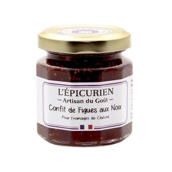 L'Épicurien - Feigenconfit mit Walnüssen 125 g