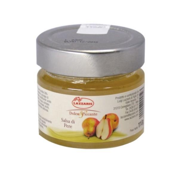 Lazzaris - Birnen-Senf-Sauce 110 g