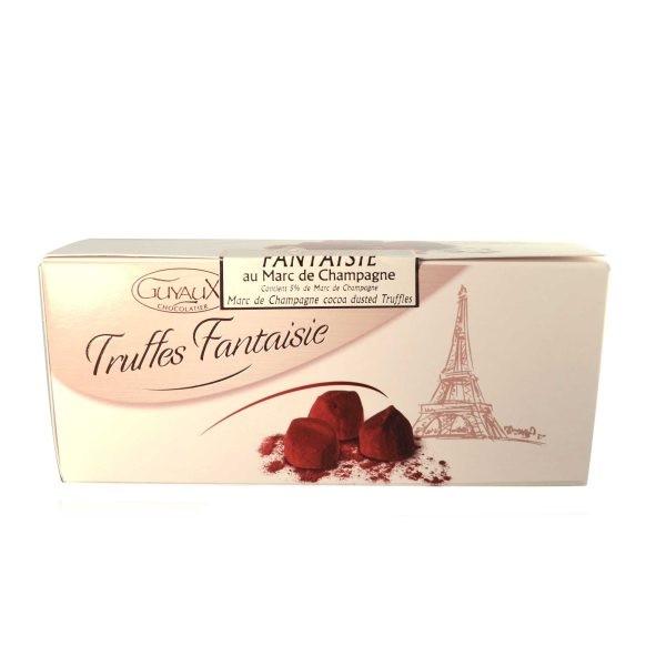 Truffes Fantaisie (Kakaokonfekt) Marc de Champagner