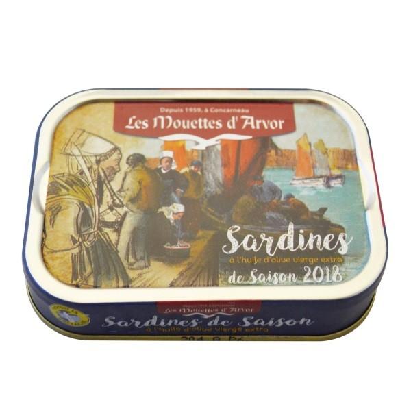 Gonidec - Jahrgangs Sardinen in nativem Olivenöl Extra 115 g